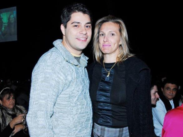 foto Evaristo-costa- e sua esposa Amália Stringhini
