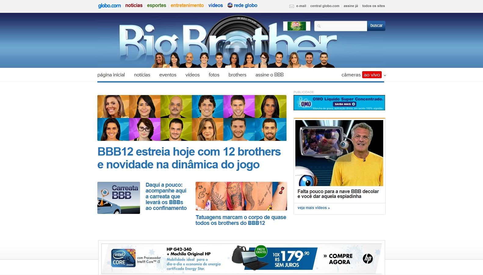 Notícias da TV Brasileira – Audiência da TV