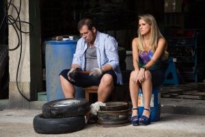 Marlene ( Ingrid Guimarães ) e Genésio ( Leandro Hassum ) *** Local Caption *** Cap 8 – Cena 21 –